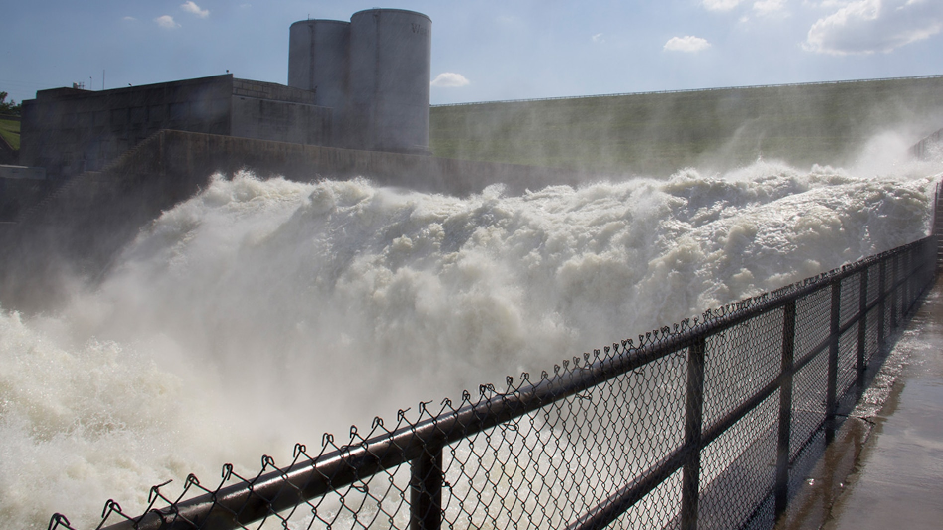 Denison Dam Floodwater Releases