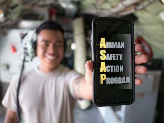The Airman Safety App is now available. The app empowers service members and civilians to report safety concerns virtually anywhere and anytime. Reports are made anonymously and sent to the Airman Safety Action Program Safety Center without the use of personal information.
