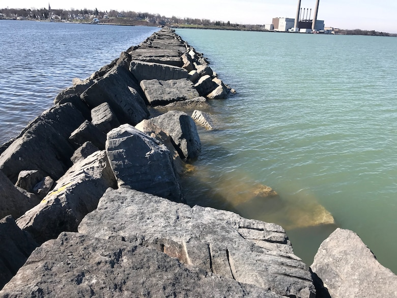 The U.S. Army Corps of Engineers, Buffalo District has awarded a $4.7 million contract to continue repairs on the west arrowhead breakwater located at the Port of Oswego, Oswego, New York.