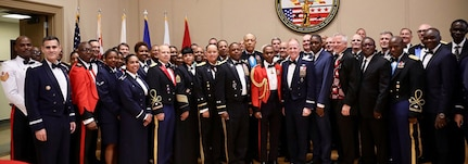 """Celebrating 217 years of service as """"Capitol Guardians,"""" as well as strong partnerships with the Jamaican Defense Force and Burkina Faso Armed Forces."""
