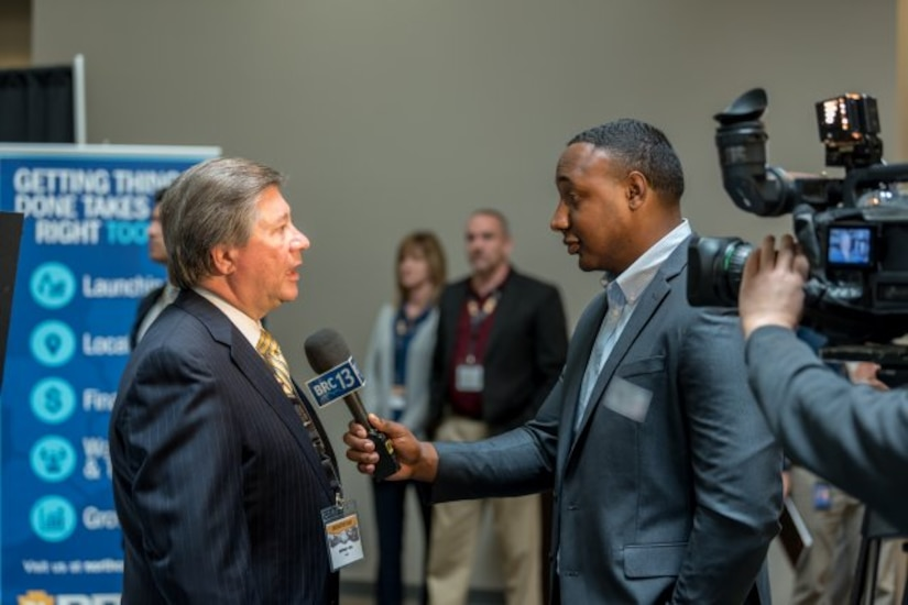 Photo from the 2019 Industry Day event