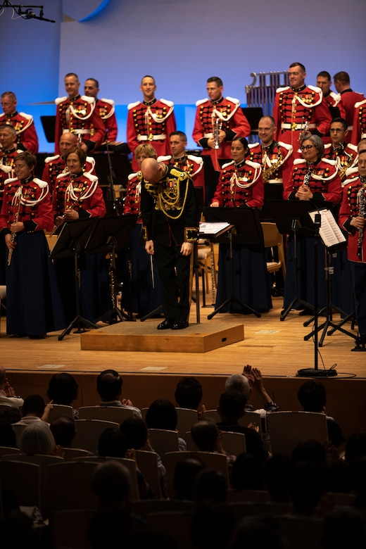 "History in the making: ""The President's Own"" United States Marine Band visits Japan for first time"