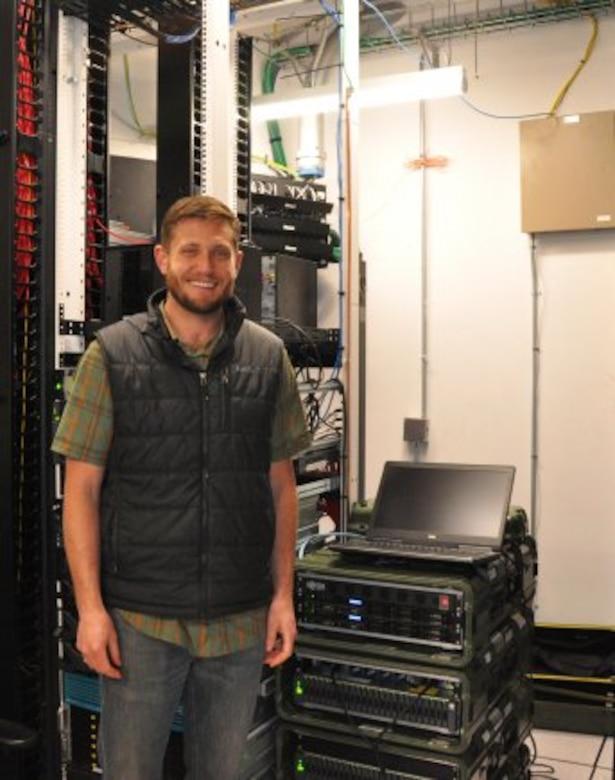 Photo of Field Software Engineer Zach Prahl