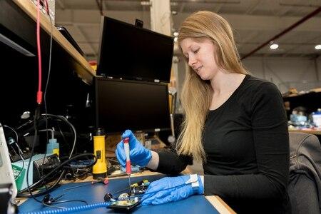 Photo of Electronics Worker Ariana Katchur