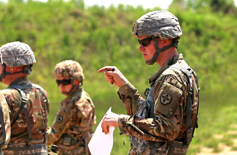 Dual Service: Montana Reserve unit Soldiers serve in police blues and Army greens