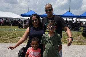 The 920th Rescue Wing held a biannual family day, at Patrick Air Force Base, Florida, Saturday, May 4, complete with food, games and live music. (U.S. Air Force photo)