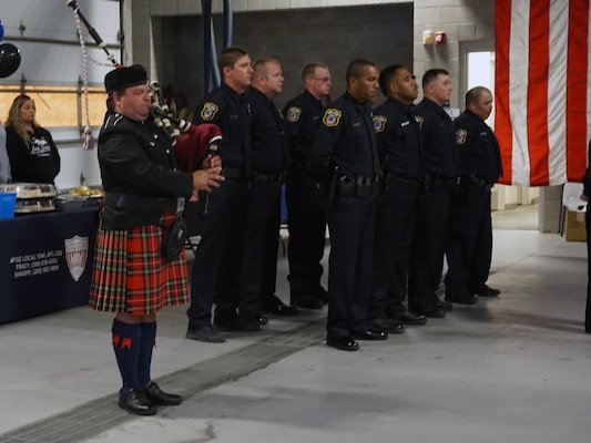DLA San Joaquin pays tribute to fallen officers