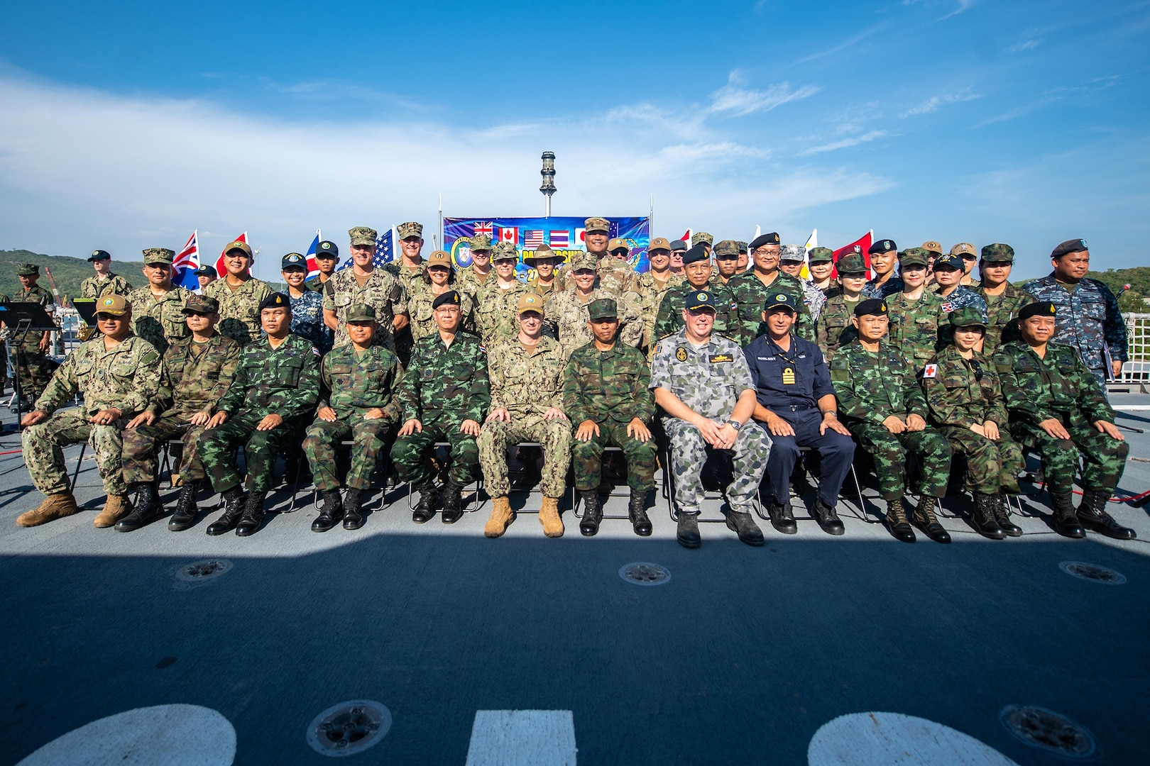 USNS Fall River arrives in Thailand for Final Pacific Partnership 2019 Mission Stop
