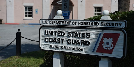 U.S. Coast Guard Sector Charleston hosted a National Safe Boating Week Open House May 18, 2019, in Charleston, S.C. The Coast Guard National Safe Boating Week Campaign is an annual week-long event held every May to promote boating safety and inform the public about proper boating procedures. Federal law mandates that the U.S. Coast Guard establish the National Boating Safety Advisory Council and consult with it on regulations and other major boating safety matters. (U.S. Air Force photo by Senior Airman Cody R. Miller)