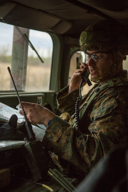 6th ANGLICO during exercise Maple Resolve 19