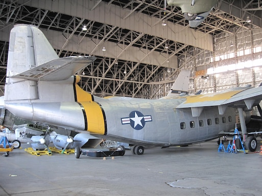 DAYTON, Ohio -- Northrop YC-125B in storage at the National Museum of the United States Air Force. (U.S. Air Force photo)