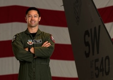 Maj. Garret Schmitz is the United States Air Force F-16 Viper Demonstration Team commander and pilot based at Shaw Air Force Base, S.C.