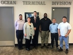 Distribution Norfolk hosts U.S. Army Security Assistance Command team members