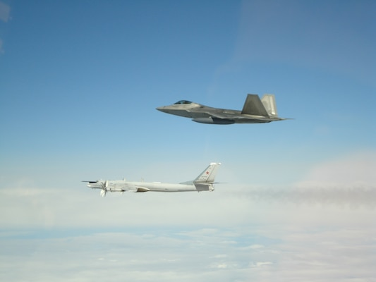 NORAD intercepts Russian bombers and fighters entering Air Defense Identification Zone