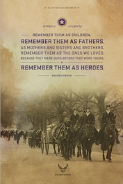 Heritage Today Poster -- Gold Star Families