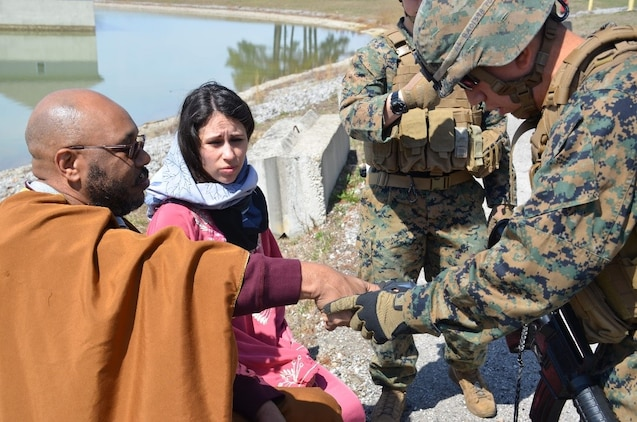 Marines evaluate biometric systems in tactical environment