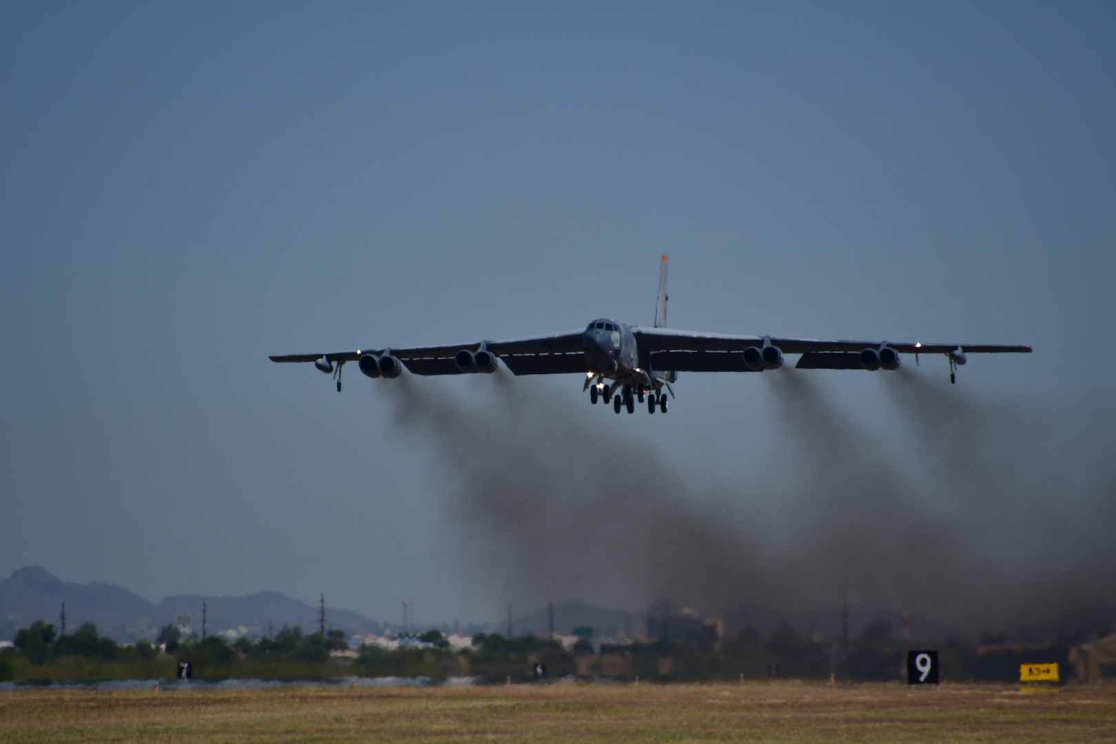 The B-52H completed phase one of its regeneration process at the 309th Aerospace Maintenance and Regeneration Group. It is scheduled to complete its phase depot maintenance in February of 2021 as a completely restored, fleet configured B-52H.