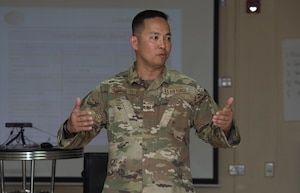Service members; coalition partners attend first deployed NCOLDC