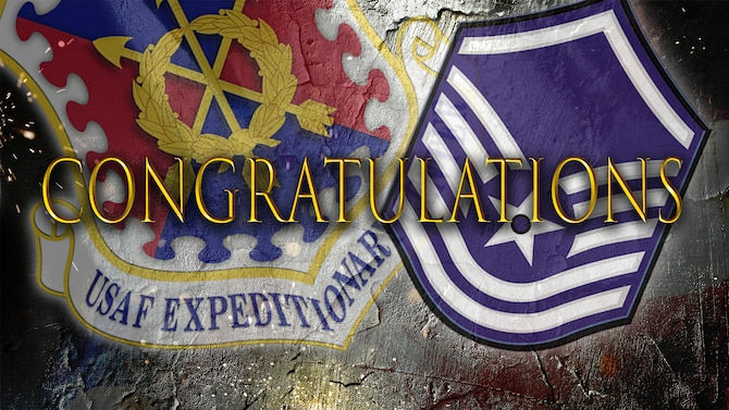 Congratulations, U.S. Air Force Expeditionary Center enterprise master sergeant selects