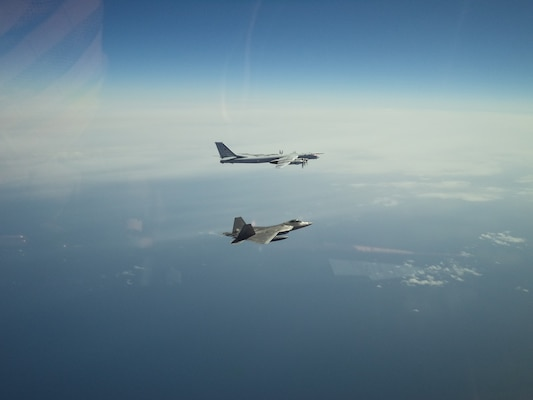 NORAD intercepts Russian bombers and fighters entering Alaskan Air Defense Identification Zone