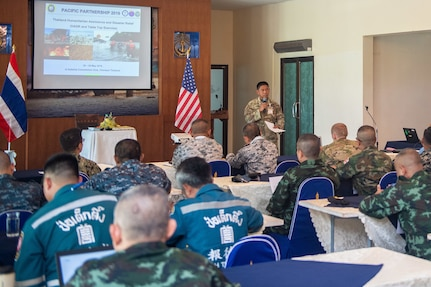 PP19 Participants Attend Disaster Relief Conference in Thailand