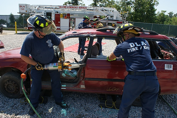 DLA EMS evolved for the better: Emergency responder shares career field changes over 28 years at DSCR