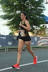 A husband and wife duo earned the top Semper 5ive finishes. Mark Hopely, 30, set a new Semper 5ive course record by two seconds with his top finish of 27:18. Emily Hopely, 32, was the top female finisher with a time of 34:30. The couple shared the awards stage celebrating a shared win in their hometown of Fredericksburg, VA.