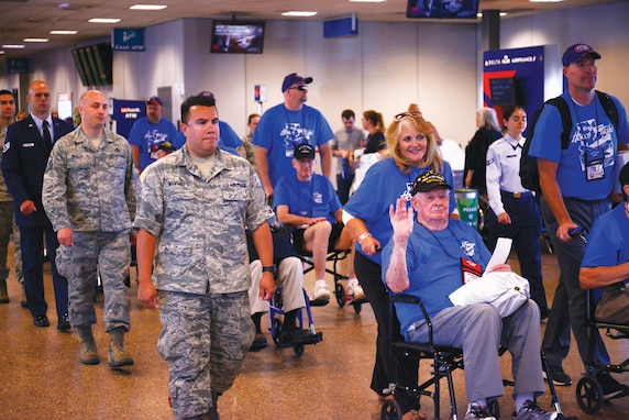 Air National Guard honor flight, June 14, 2018