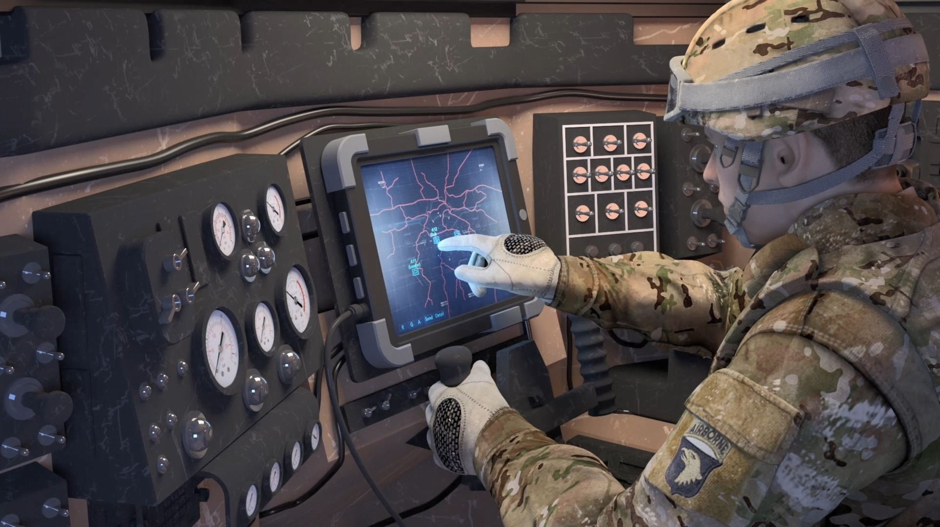 Army Futures Leveraging Mission Command for Effective Soldier, Robot Teams