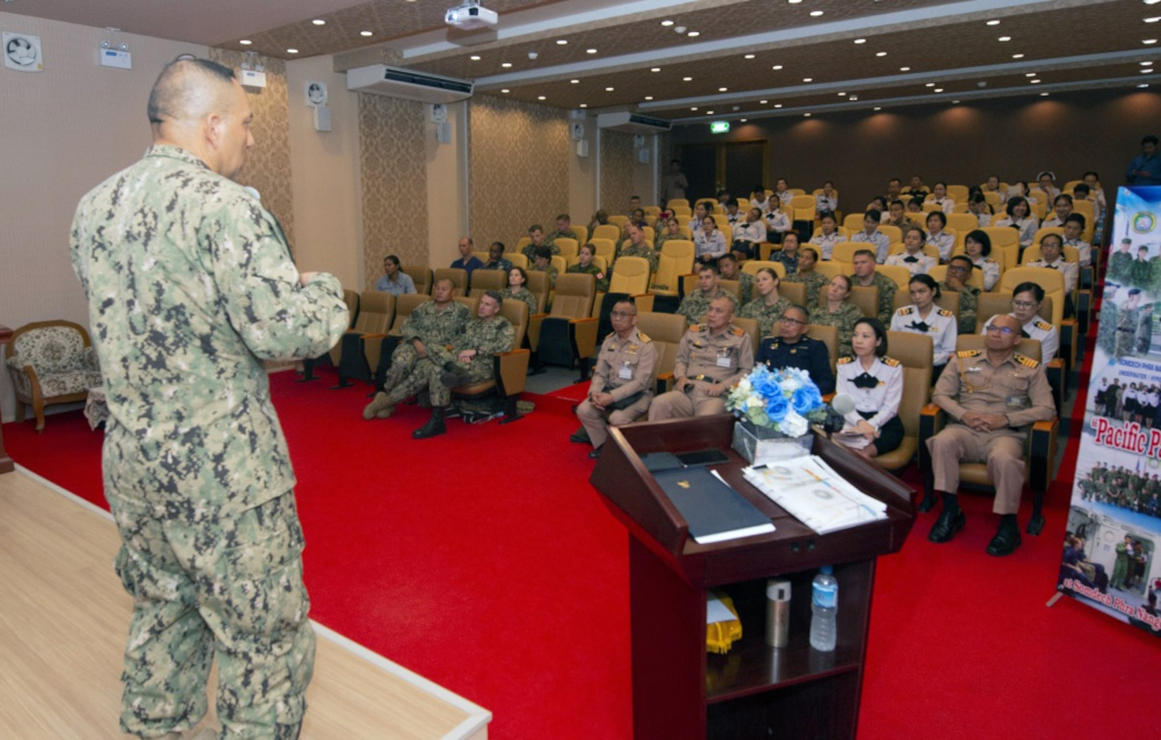Thai Military Participants Attend PP19 Medical Workshop