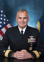 Rear Admiral Anthony C. Carullo Official Portrait