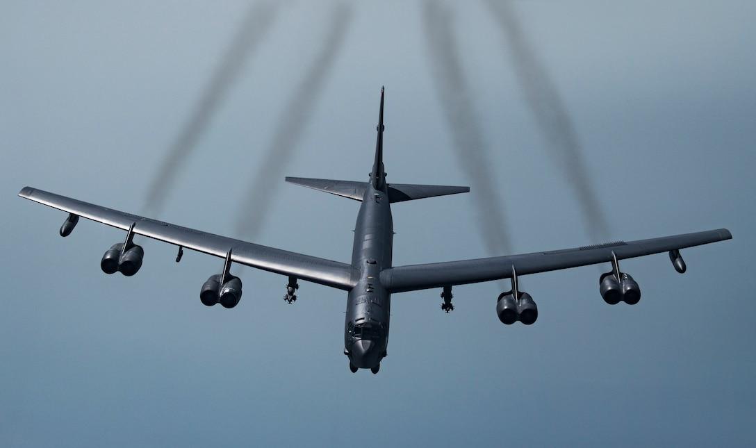A B-52H Stratofortress