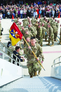 65th Field Artillery Deploys to Middle East