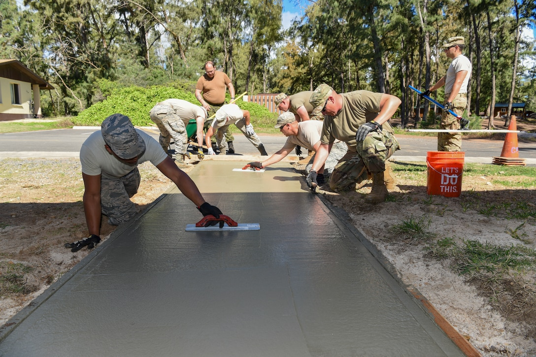 169th Civil Engineer Squadron trains at Bellows Air Force Station, Hawaii