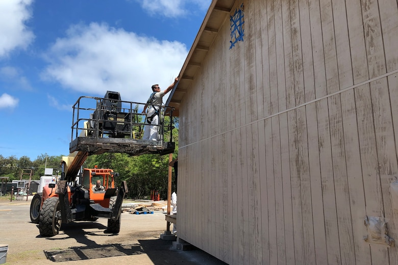 169th Civil Engineer Squadron trains at Bellows Air Force Station, Hawaii