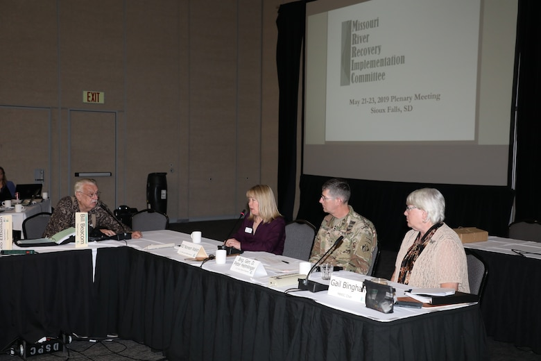 MRRIC meets in Sioux Falls, South Dakota for Spring 2019 Plenary Meeting May 23, 2019. (Photo by Dr. Michael Izard-Carroll, USACE Omaha District)