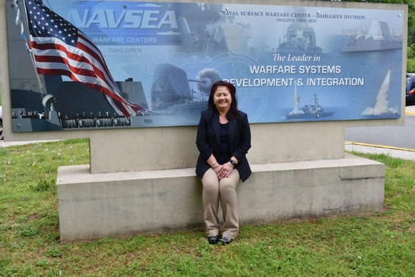IMAGE: Amara Elizabeth Halt is the Missile Portfolio senior project manager for the Missile Systems Engineering and Integration Branch at Naval Surface Warfare Center Dahlgren Division (NSWCDD)