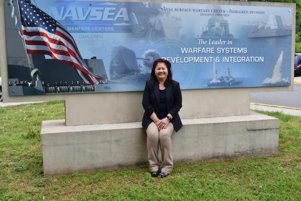 IMAGE: Amara Elizabeth Halt is the Missile Portfolio senior project manager for the Missile Systems Engineering and Integration Branch at Naval Surface Warfare Center Dahlgren Division (NSWCDD)