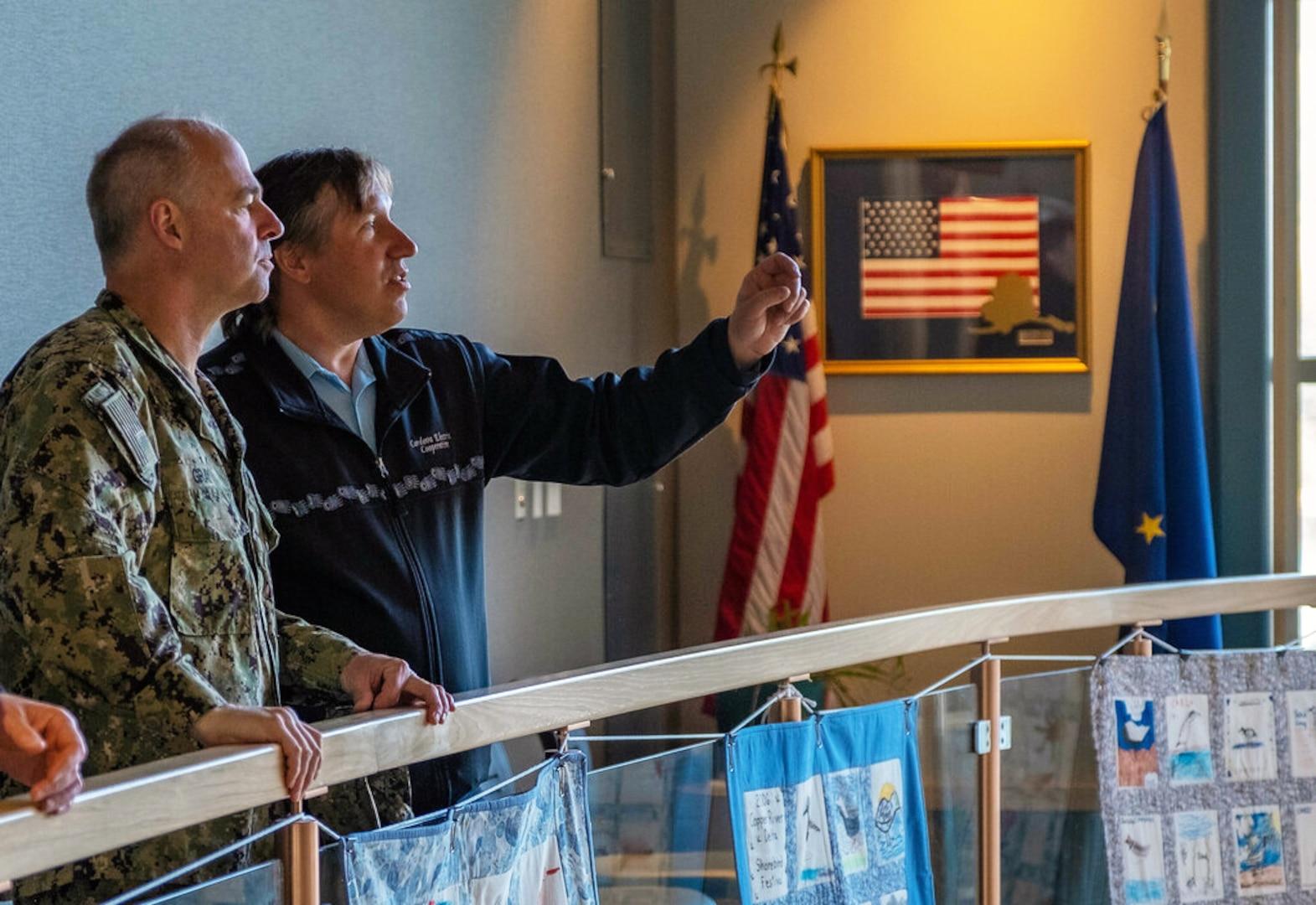 Navy Region Northwest Commander Makes Cordova Visit