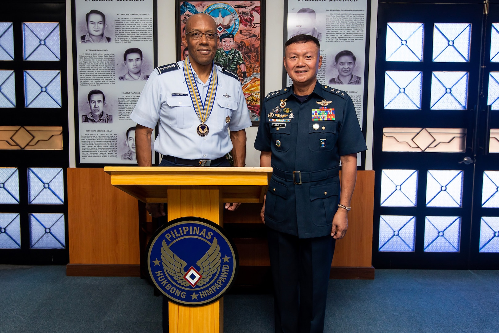 COMPACAF Visit Enhances Relationship with Philippine Air Force