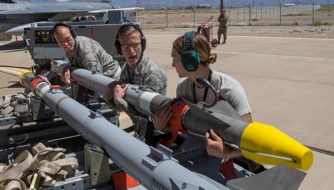 Missile testing