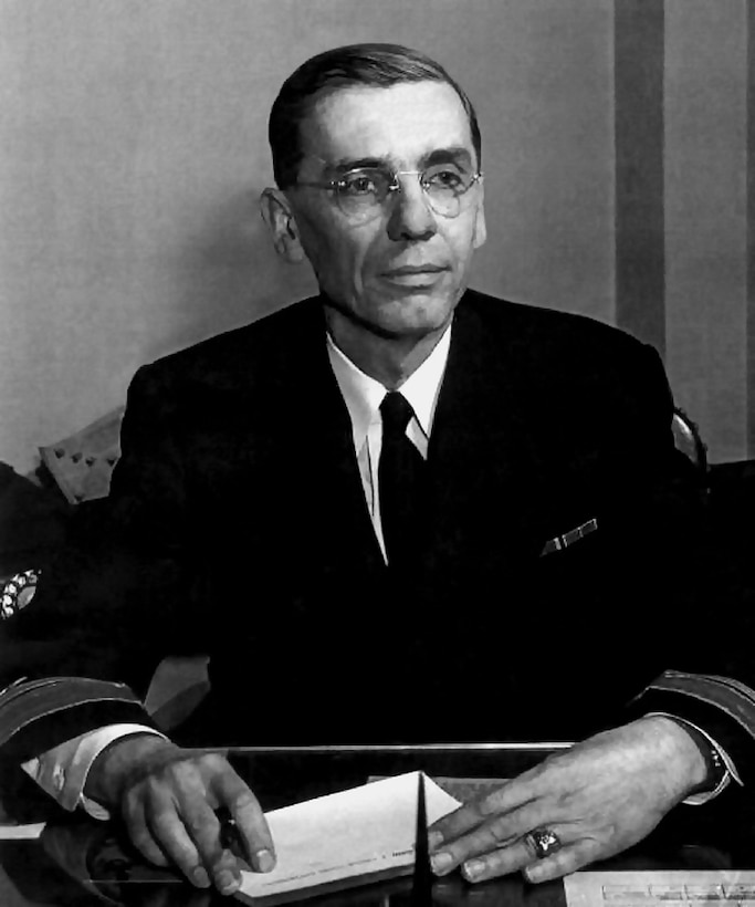 RADM Joseph Wenger, USN, NSA Vice Director December 1952 - November 1953