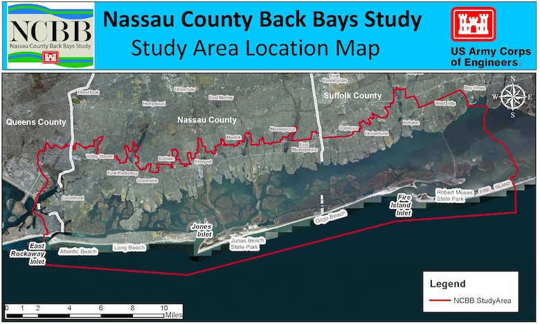 Nassau County Back Bays Study Map