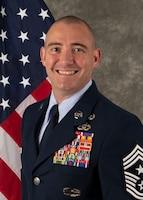 Chief Master Sgt. Alex Morgan Official Photo