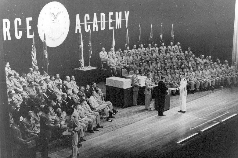 Class of 1959 graduation