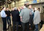 Land and Maritime team members visit DLA Distribution Susquehanna, Pennsylvania