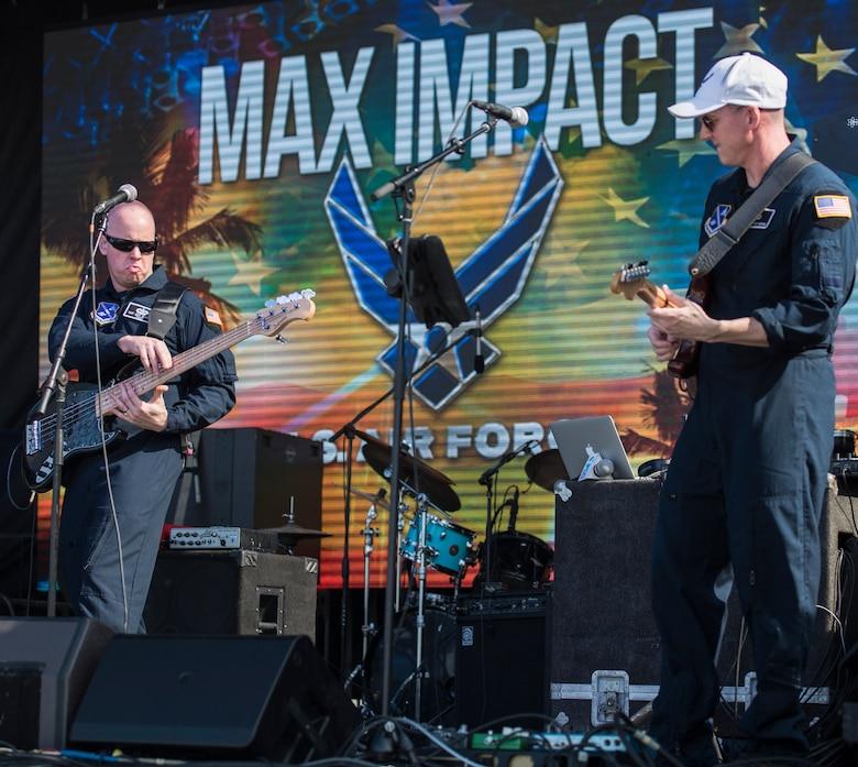 Max Impact performs