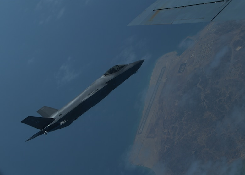 A photo of U.S. Air Force F-35A Lightning II.