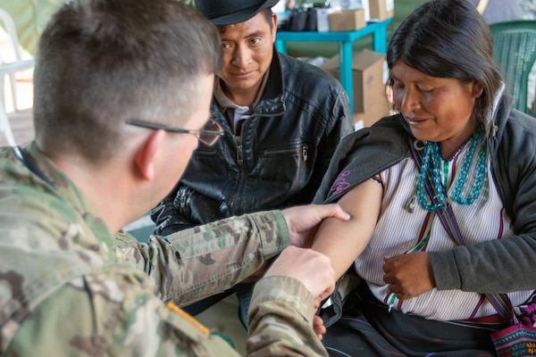 U S  Military Helps Provide Medical Care in Guatemala > U S