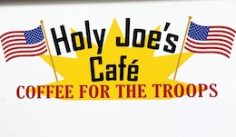Holy Joe's, a resiliency center at Camp Arifjan, Kuwait, has books, video games, and coffee for Soldiers who need a break, May 20, 2019.